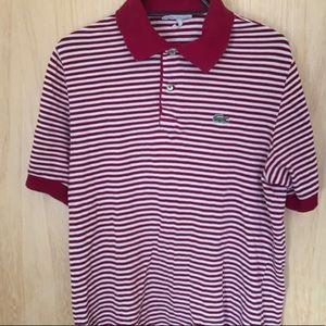 Lacoste shirt and Ralph Lauren